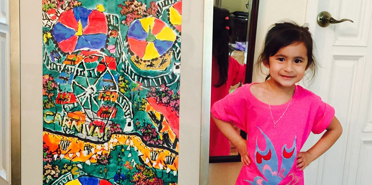 Well-Known Filipino Artist Donates Painting to the BATA Foundation