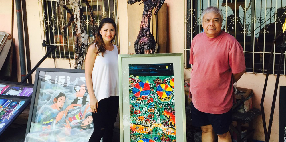 Combining ART and CHARITY - Carlos Rocha Donates Painting to BATA Foundation